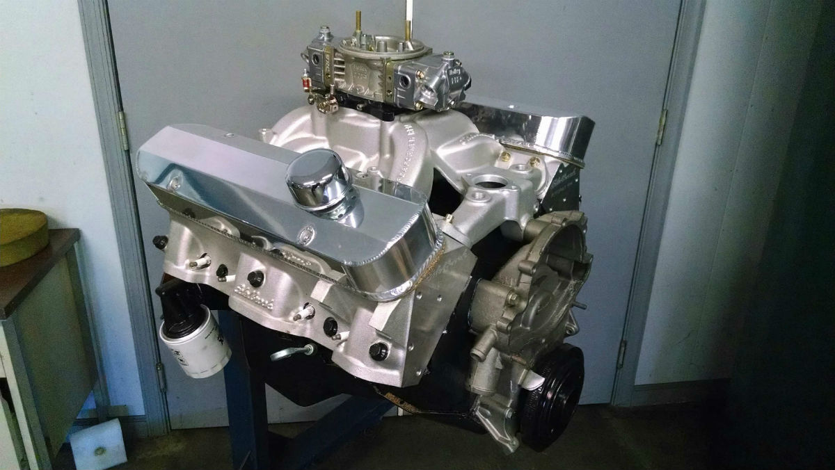 Ford Mopar And Pontiac Engines Jensens Engine Technologies Big Block This 406 Made Almost 500 Hp On Pump Gas