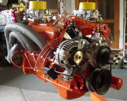 Vince Correale's 440 max wedge engine